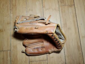 Vintage Wilson A2176 Youth Baseball Glove Richie Zisk Autograph Model 2D