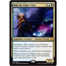 VELA THE NIGHT-CLAD NM mtg Commander 2017 Gold - Wizard Mythic
