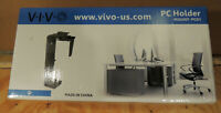 VIVO Adjustable Under Desk and Wall PC Mount | Computer Case Holder with Swivel
