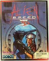 Alien Breed 3D - 1995 Team 17 / Ocean Amiga A1200 / A4000 Big Box PC Game - New