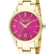Reloj Mujer Tess Oro Fucsia TLJ887 Acero Cuarzo Pulsera - Liu Jo Luxury