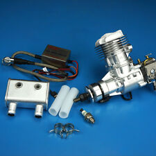 New DLE Engine DLE20RA 20CC Gasoline with Electronic Igniton and Muffler Updated