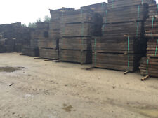 """Reclaimed Pine Railway Sleepers Grade """"A"""" (delivery available)"""