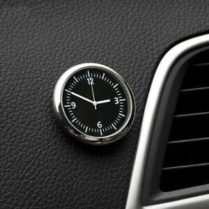 Mini Pocket Quartz Analog Watch Stick-On Clock Fits For Car Boat Bike Motorcycle
