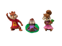 McDonalds Happy Meal 2011 Alvin & The Chipmunks: Chipwrecked - 3 Figures