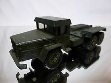 SOLIDO 523 UNIC SAHARA MILITARY TRUCK - ARMY GREEN 1:50? - GOOD CONDITION