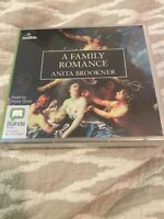 ANITA BROOKNER-A FAMILY ROMANCE- 8 CD AUDIO BOOK- NEW/SEALED