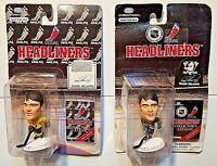 2 Action Figures 1996/97 NHLPA Headliners Collection Teemu Selanne Mighty Ducks