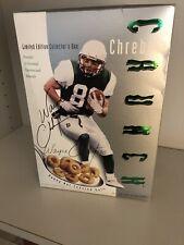 Wayne Chrebet Autographed Unopened Box Of Chrebet Crunch Cereal TOUGH TO FIND!