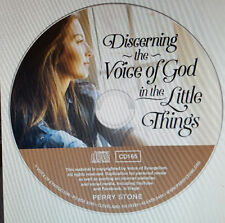 """PERRY STONE-""""Discerning the voice of God in the Little Things - CD-New"""