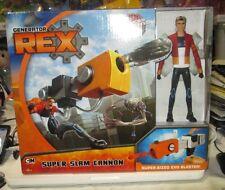 Generator Rex SUPER SLAM CANNON + Articulated Rex NIP Cartoon Network