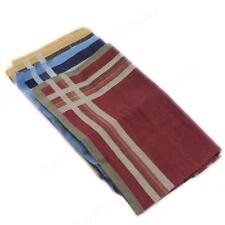 Fashion Handkerchief New Adult Men Classic Soft Solid Comfort Plaid Cotton Blend