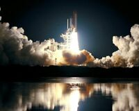 STS-93 SPACE SHUTTLE COLUMBIA LAUNCH NASA 8x10 SILVER HALIDE PHOTO PRINT