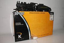 K-LINE O SCALE DIECAST #K3180-0094W PRR A5 SWITCHER STEAM LOCOMOTIVE & TENDER