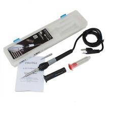 70W Watt Soldering Iron Pencil Kit w/4 LED Lights, Rubber Grip 110V 3 Pin Wired