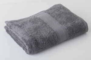 12 x Grey Luxury 100% Egyptian Cotton Hairdressing Towels Salon Beauty 50x85cm