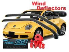 VW NEW BEETLE 1998 - 2012  3 doors  Wind deflectors 2 pc set  HEKO  31104