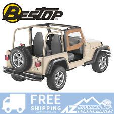 Bestop Soft Fabric Upper Doors 88-95 Jeep Wrangler YJ Spice 51780-37