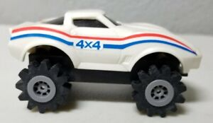 Vintage Schaper STOMPER 4x4 Corvette Chevrolet White Tested and Working