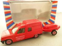 Solido Renault Fire Van and Pump Trailer S.D.I.  - French Fire Engine Model