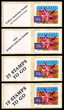 Desert Star Flower 2002 Messages set of 4 from SNP SPrint Roll of 100  FREE POST
