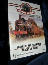 RAILWAY ADVENTURES ACROSS EUROPE -  SILENCE OF THE IRON HORSE - TRACKS OF MOORS