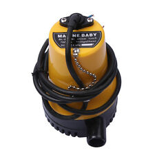 DC-12V 3m3/H Bilge Pump Submersible for Marine Yacht / Boat Silent Water Pump