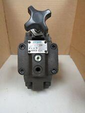 VICKERS REDUCING VALVE XC G 06 3F 30 XCG063F30 2850 PSI MAX.