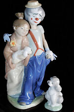 LLADRO SOCIETY 2000 PALS FOREVER 7686 & A FRIEND FO LIFE 7685 w BASE