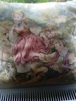 "Large Vintage Buckingham Tapestry Cushions 17"" x 1 8"""