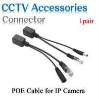 POE Splitter Adapter Cable POE Injector Kit Power Supply CCTV Cable A 1 Pair
