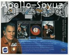 1975 APOLLO-SOYUZ Test Project / NASA Apollo 18 Space Stamp Sheet (2000 Grenada)