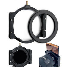 100mm Square Filter Holder +77-77mm Double Thread Ring for Lee Hitech Cokin Z