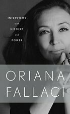 NEW - Interviews With History and Power by Fallaci, Oriana