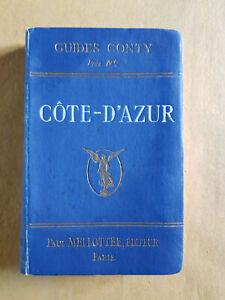 GUIDE CONTY Côte-d'Azur début XXème MELLOTEE Editeur Paris