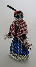 Frida Catrina Beaded Guatemalan Christmas Ornament Day of the Dead Fair Trade