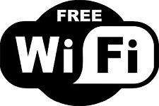 WIFI Free Spot Vinyl Decal Sticker Die Cut Coffee Shop Sign Cafe