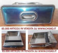 CASSETTO FONDI CAFFE' CON BATTIFILTRO, 347X405XH132mm. PRIOLINOX ACCIAIO INOX
