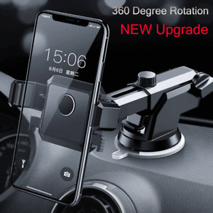 360° Rotation Car Dashboard Windshield Mount Holder Stand For Mobile Cell Phone