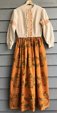 Vintage The Vested Gentress Owl Prairie Boho Dress