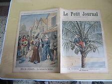 Le petit journal 1898 n° 395 Guerre hispano américaine cocotier kermesse étudian