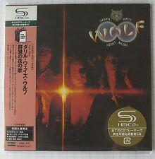 DARRYL WAY´S WOLF - Night Music JAPAN SHM MINI LP CD OBI NEU UICY-93828