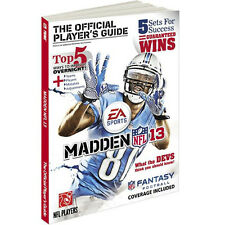 Madden NFL 13: The Official Player's Guide (Prima Official Game Guides-ExLibrary