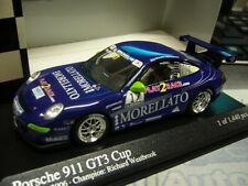 Porsche 911 996 gt3 Cup 2006 supercup westbrook #17 more Minichamps s-prix 1:43