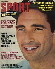 1966 (Oct.) Sport Magazine, Baseball, Sandy Koufax, Los Angeles Dodgers ~VG