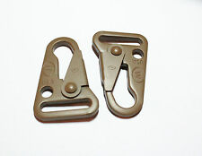 2x New ITW23CB CLASH Coyote Tactical Latch Hook H&K Style Rifle Sling ITW