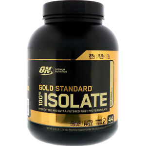 Optimum Nutrition Gold Standard 100% Whey ISOLATE Protein 3lb 44 Serve FREE SHIP