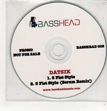 (FF382) Datsik, 3 Fist Style - DJ CD