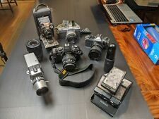 Lot of Various Old Photographic Cameras