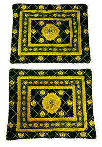 Croscill Venezia Queen Pillow Shams Gold Black